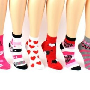 Accessories - Valentine's day assorted puppy love socks
